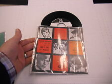 David Bowie And I Say To Myself/Good Morning Girl 45 RPM PYE Records EX promo