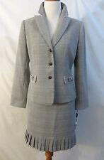 Tahari Asl.Petite Printed Skirt Suit Size 6P # E 166