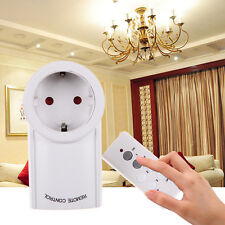 Wireless Remote Control Outlet Electrical Power Light Plug Switch Socket EU Plug