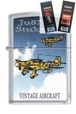 Zippo 205 JU87 Stuka German WW2 Lighter with *FLINT & WICK GIFT SET*