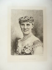 CHRISTINE  NILSSON  ACTRICE 1882