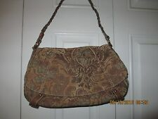Madison Studio Fabric floral brocade shoulder bag handbag