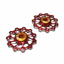 gobike88 KCNC Ultra Light Jockey wheel / Pulley, AL7075 11T Red 2pcs/set, 695