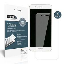 2x Huawei Honor V9 Pellicola Protettiva Protezione Vetro Flessibile 9H dipos