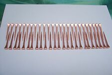 HORSESHOE NAILS NEW COPPER COATED 50 pack STAINED GLASS  COPPER FOILING & CRAFTS