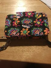 Vera Bradley Disney Smart iPhone wristlet wallet Mickey  Mouse MIdnight Pattern