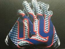"""NFL New York Giants GLOVES 16"""" x 24"""" Framed Canvas Print"""