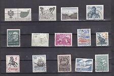 Sweden stamp collection All Different Used   A078