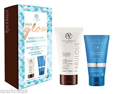 Vita Liberata POLISH & GLOW 2 Piece Tan Gift: Skin Polish & Self Tanning Lotion
