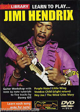 LICK LIBRARY Learn to Play JIMI HENDRIX RIFFS Purple Haze LESSON Song Guitar DVD