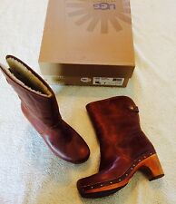 Women's UGG Lynnea 1958 Leather boots size 7 M NICE