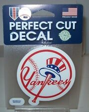 NEW YORK YANKEES COLOR WINCRAFT 4X4 DECAL STICKER FREE SHIP