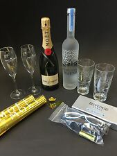 "Moet Chandon Champagner + Belvedere Vodka ""Party Set"" 12%Vol. 40%Vol."