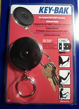 KEY BAK  MODEL#3B - Key Ring Caddy  Retractor  SLIP-ON