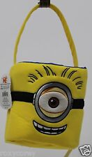 Easter Halloween Despicable Me Minion Yellow Blue Large Reversible Tote Basket