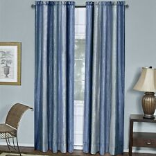 Achim Ombre Panel 50 x 63 - Blue OMPN63BL06 Curtain Panel NEW