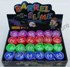 48 Pcs - Barrel O Slime joke gag prank toy trick party supply favor goo
