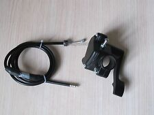 Thumb Lever Throttle Controller Assembly + Cable For ATV Quad Pit Bike 50-150cc