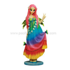 "MYKA JELINA FAIRY GOTHIC CHLOE SUMMER COLOURFUL CUTE FIGURINE STATUE 7.75"" TALL"