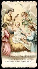 santino cromo-holy card-PAL-GESU' BAMBINO 12