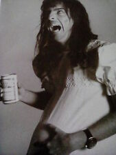 """Alice Cooper Promo Shot in 1973 Picture from Music Book 12x9"""" to Frame?"""