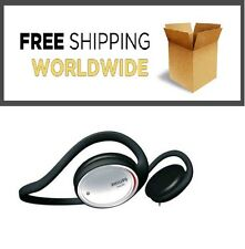 ORIGINAL Philips SHS390 Black Neckband Earphones Headphones On ear black New