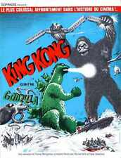 King Kong Vs Godzilla Poster 09 Metal Sign A4 12x8 Aluminium