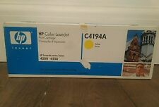 HP Color Laserjet Toner Cartridge Yellow C4194A Series 4500 4550 RRP£136