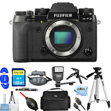 Fujifilm X-T2 Mirrorless Digital Camera (Body Only)!! PRO BUNDLE BRAND NEW!!