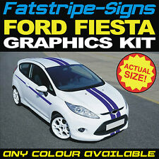 FORD FIESTA ZETEC S ST STRIPES KIT GRAPHICS STICKERS DECALS NEW