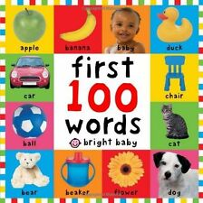 **NEW** - First 100 Words Bright Baby First 100 (Board book) ISBN1843322927