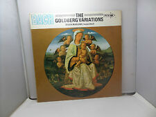 BACH THE GOLDBERG VARIAIONS S MARLOWE NARPSICHORD MCA MUCS127 VINYL LP RECORD