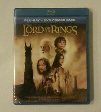 Lord of the Rings The Two Towers Blu Ray + DVD Brand New Sealed