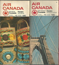 Air Canada international and North American timetable 12/16/80 [7012]