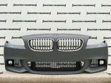 BMW SERIE 5 M Sport f10 f11 2009-2013 PARAURTI ANTERIORE COMPLETO ORIG. NUOVO [b468]
