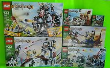 Lego CASTLE Set Lot 5618 7038 7040 7041 7078 7079 Troll Wagon Drawbridge Defense