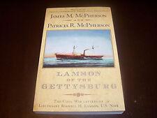 LAMSON OF THE GETTYSBURG U.S. Navy Civil War Naval Warfare Ship Captain Book