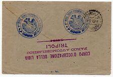 1912 LIBIA POSTA MILITARE TRIPOLITANIA 7/9 PER PORTO MAURIZIO C/3606