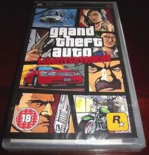 [PAL]  Grand Theft Auto: Liberty City Stories  (PSP, 2005)  ORIGINAL BLACK LABEL