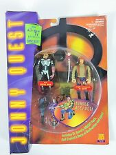 Jonny Quest Jq5 Evil Ezekial Rage Jungle Commando Dr Quest Figures - 1995 Galoob