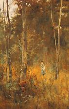 Frederick McCubbin Oil Painting repro Lost