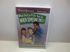 Trevor Romain's What On Earth Do You Do When Someone Dies? DVD new