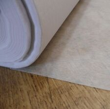 Light weight fusible iron on interfacing in White - sold by the metre