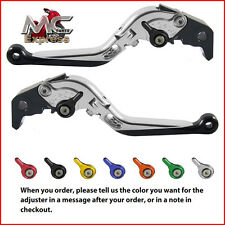 Folding Extendable Adjustable Levers Buell XB12R XB12Ss XB12Scg 2009 Silver