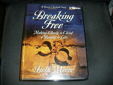 Beth Moore 11 AUDIOTAPES Breaking Free Making Liberty Christ a Reality in life