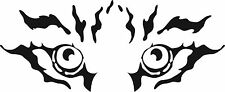 TIGER EYES CAR DECAL STICKER