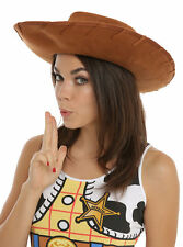 Disney Toy Story Deluxe Licensed Woody Cowboy Adult Teen Hat Costume Cosplay New