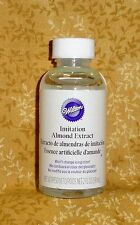 Almond Imitation Clear Extract, 2 oz. Wilton,Cake Decorating604-2126,Flavoring