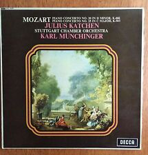 Mozart Piano Concerto No.20 in D Major (Katchen/Munchinger)- LP/Record