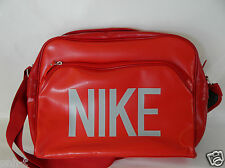 NIKE RED AIRLINE STYLE MESSENGER  BAG RETRO BNWT GYM WORK SCHOOL